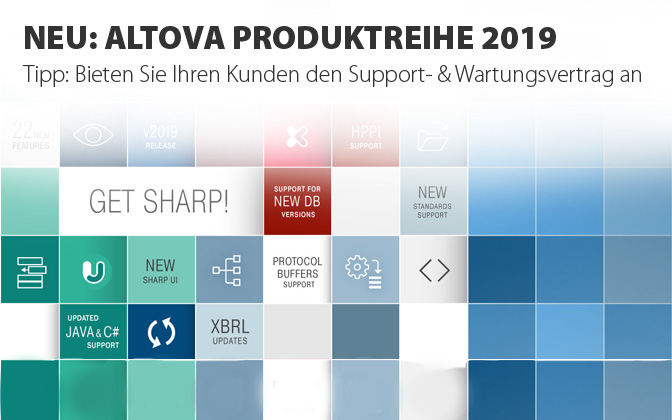 Neu: Altova Produktreihe 2019 - SOS Software Service GmbH