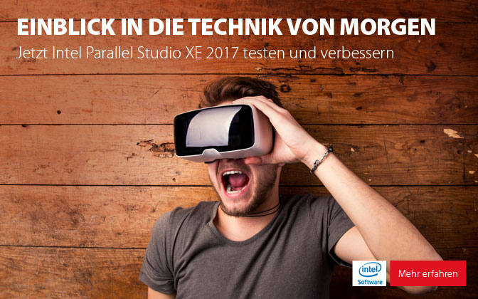 Intel Parallel Studio XE 2017 Beta Programm