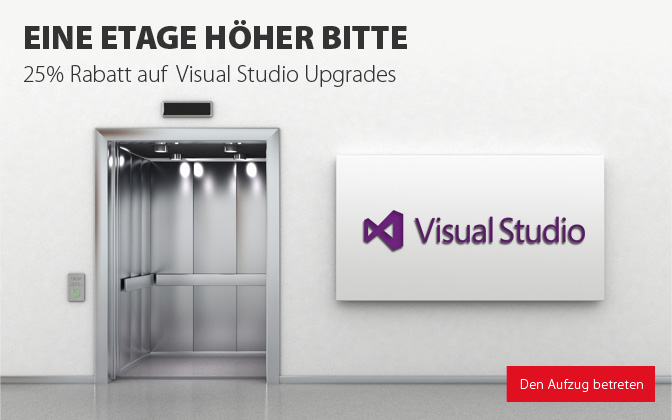 Visual Studio Upgrade Promo