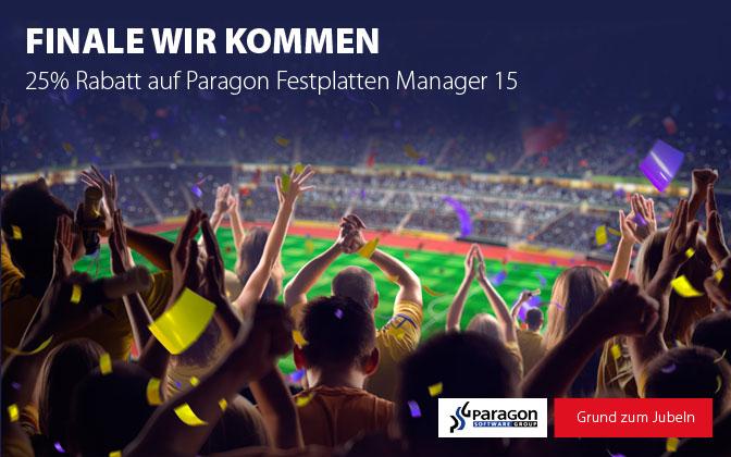 Paragon Festplatten Manager EM Promo
