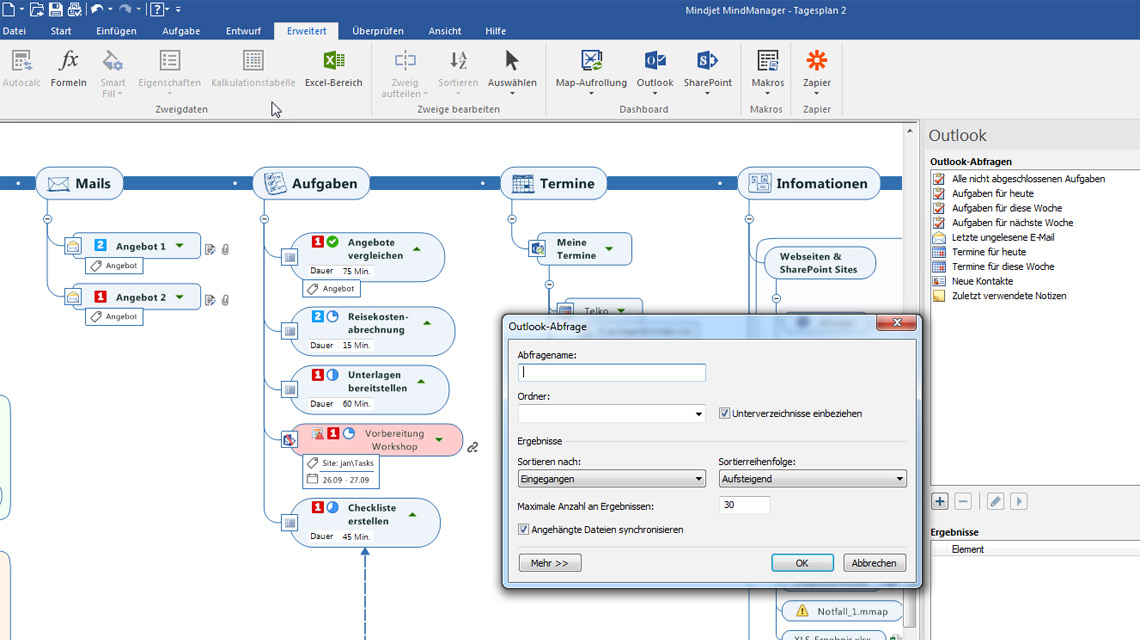 Informationsflut Managenmindmanager Sos Software Service Gmbh